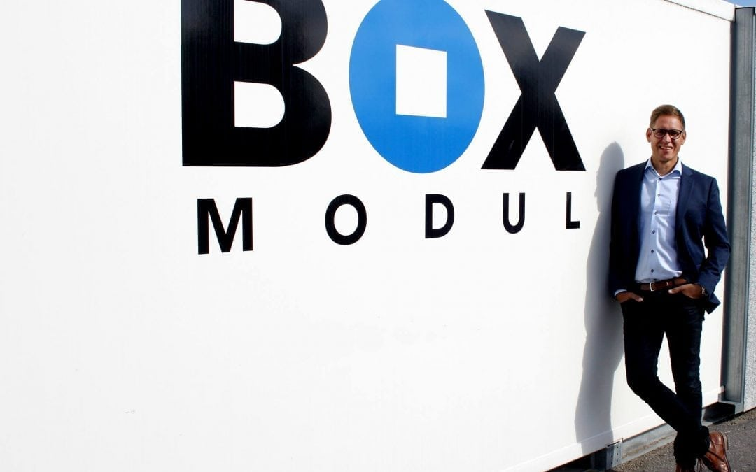 Peter Nordlund köper Box Modul